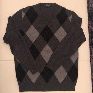 Jcrew Vneck 100% cashmere sweater